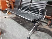Sale 8908 - Lot 1066 - Herman Miller Style Three Seater Reception Bench