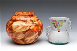 Sale 9093P - Lot 72 - Art Deco Carltonware Vase and Falcon Ware Peonie Vase, tallest 14cm.