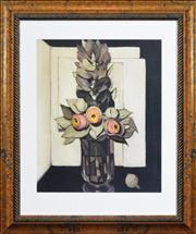 Sale 8301A - Lot 33 - Margaret Preston (1875 - 1963) - Flowers 54 x 44cm