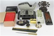 Sale 8436 - Lot 97 - Desk Accessories incl. a Box of Pencils