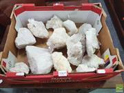 Sale 8455 - Lot 1069 - Box Brazil Quartz Crystal