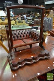 Sale 8542 - Lot 1032 - Victorian Mahogany Toilet Mirror (a/f)