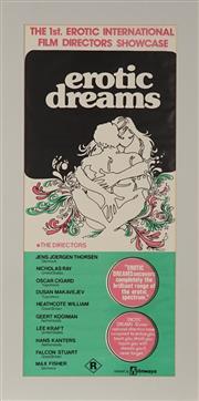 Sale 8822A - Lot 5143 - EROTIC DREAMS - 71 x 30.5cm