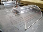 Sale 8908 - Lot 1048 - Pair of Modernist Perspex Footstools