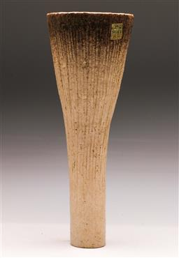 Sale 9131 - Lot 73 - Japanese studio pottery vase (H:43cm)