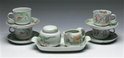 Sale 9153 - Lot 77 - A German part tea service