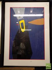 Sale 8407T - Lot 2034 - Max Ackermann (1887 - 1975) - Untitled 88 x 58.5cm