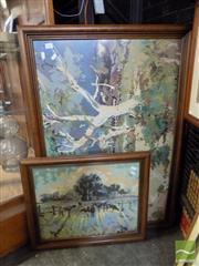 Sale 8407T - Lot 2083 - 2 Tapestries
