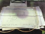 Sale 8412 - Lot 1091 - Collection of Various Blueprints & Drawings