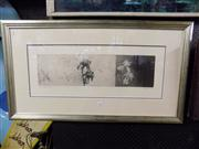 Sale 8437 - Lot 2065 - Chris Denton -  A Passage of Time ,etching, frame size 94 x 53cm, signed lower right