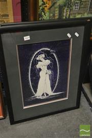 Sale 8537 - Lot 2069 - 2 Framed Astrological Prints