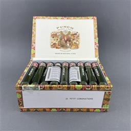Sale 9120W - Lot 1456 - Punch 'Petite Coronation' Cuban Cigars - box of 25, dated June 2016