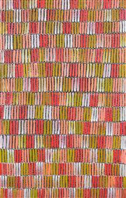 Sale 8358 - Lot 531 - Jeannie Mills Pwerle (1965 - ) - Bush Yam 151 x 98cm
