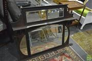 Sale 8398 - Lot 1097 - Timber Framed Mirror