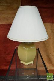 Sale 8480 - Lot 1182 - Chinese Ceramic Table Lamp