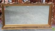 Sale 8601 - Lot 1305 - Large Ornate Gilt Framed Mantle Mirror (115 x 205cm)