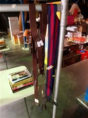 Sale 8668 - Lot 2077 - Vintage Button Suspenders (2 pairs)