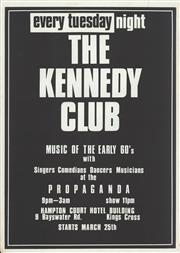 Sale 8766A - Lot 5058 - The Kennedy Club - offset lithograph