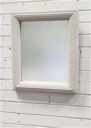 Sale 9080 - Lot 1038 - Fluted Timber Framed Mirror (59 x 49cm)