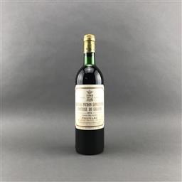 Sale 9120 - Lot 1034 - 1978 Chateau Pichon Longueville-Lalande, 2me Cru Classe, Pauillac - very high shoulder