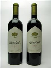 Sale 8313 - Lot 490 - 2x 2007 Arboleda Wines Merlot, Chile