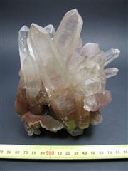 Sale 8331A - Lot 503 - Hematoid Lemurian Quartz Cluster, China