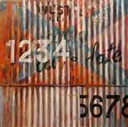 Sale 8624 - Lot 587 - Ross Tamlin (1958 - ) - Café Late 120 x 120cm