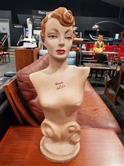 Sale 8723 - Lot 1085 - Vintage Shop Mannequin by Lady Ruth