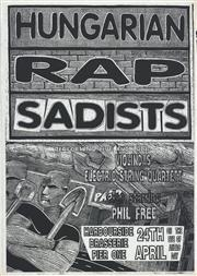 Sale 8766A - Lot 5059 - Hungarian Rap Sadists - screenprint