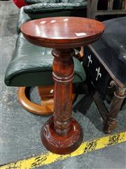 Sale 8777 - Lot 1020 - Carved Timber Pedestal