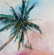 Sale 8838 - Lot 519 - Cheryl Cusick - Tropics 100 x 100cm