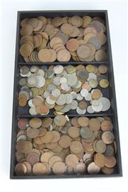 Sale 8396 - Lot 10 - Australian Pennies, Half Pennies & Other Money Coins