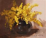 Sale 8624 - Lot 513 - Alan Baker (1914 - 1987) - Still Life 18 x 23cm