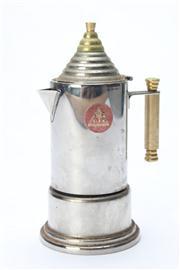 Sale 8670 - Lot 33 - Vintage Alpu Puppieni 18/10 Italian Teapot