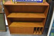 Sale 8326 - Lot 1006 - Clausen Danish Teak Wall Bookcase