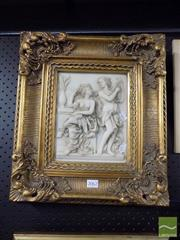 Sale 8474 - Lot 2062 - Framed Plaque