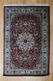 Sale 8576C - Lot 6 - Pak Persian Kashan 220cm x 140cm