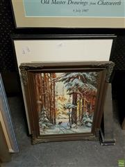 Sale 8609 - Lot 2065 - Two Prints and an Acrylic on Canvas