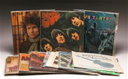 Sale 9136 - Lot 45 - Box of records incl. Beatles, The Clash, Led Zeppelin & others (some empty covers)