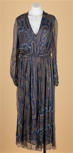 Sale 9250F - Lot 7 - A Zimmermann silk long dress, size 2.