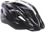 Sale 8288B - Lot 51 - MET Xilo Unisize Helmet 54-61cm RRP $49, In Black/Silver Finish New in Box