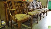 Sale 8383 - Lot 1368A - Set of 6 Maple Chairs