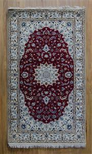 Sale 8576C - Lot 7 - Indo Persian Nain 166cm x 96cm