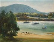 Sale 8613 - Lot 2014 - James Hays (1925 - ) - Manning River, Mingham 1986 34 x 44cm