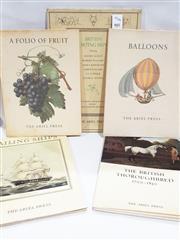 Sale 8822B - Lot 805 - 5 Volumes The Ariel Press Balloons 1956; A Folio of Fruit, 1957; Warner, O. Sailing Ships, 1958; The British Thoroughbred 170...