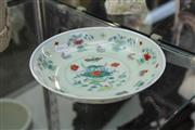 Sale 8348 - Lot 17 - Doucai Chicken Plate - Diameter 19.5cm