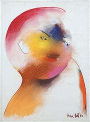 Sale 8410A - Lot 5039 - Anne Hall (1945 - ) - Untitled, 1967 (Blue-Eyed Model) 76.5 x 56cm (sheet size)