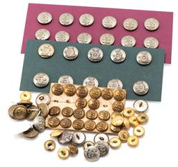 Sale 9190E - Lot 76 - A collection of uniform buttons including mostly Royal Artillery