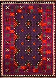 Sale 8307A - Lot 27 - Old Persian Kilim 198cm x 146cm RRP $500
