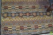 Sale 8345 - Lot 1075 - An Indian Chobi Rug (189 x 123cm)